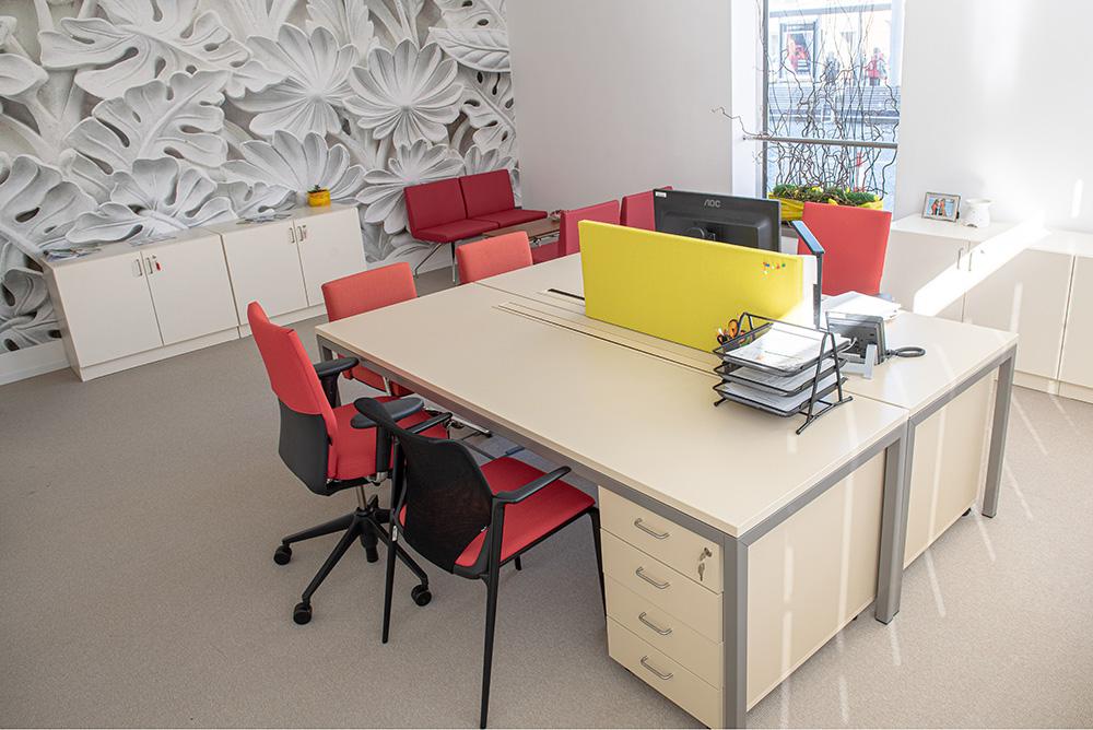 Kancelář Centra pro studenty se specifickými potřebami